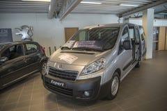 Dla sprzedaży, Peugeot ekspert zdjęcie stock