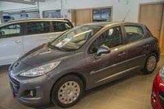 Dla sprzedaży, Peugeot 207 99gr obrazy royalty free
