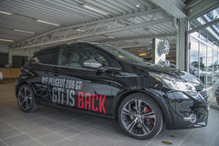 Dla sprzedaży, Peugeot 208 gti obraz stock