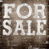 Dla sprzedaży grunge Fotografia Stock