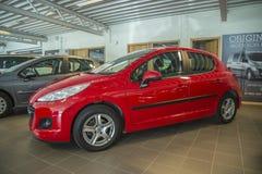 Dla sprzedaży, Peugeot 207 Obrazy Royalty Free