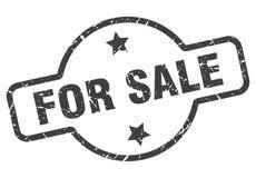 Dla sprzeda? znaczka royalty ilustracja