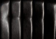 Dla tekstury czarny skóra Obraz Royalty Free
