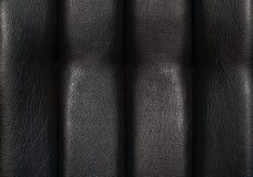 Dla tekstury czarny skóra Obraz Stock