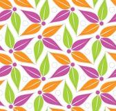Dla tekstylnych tkanin bezszwowy projekt Obraz Stock