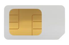 DLA Telefon Komórkowy Sim Karta ilustracji