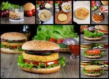 Dlaczego Gotować dokrętka hamburger Fotografia Stock