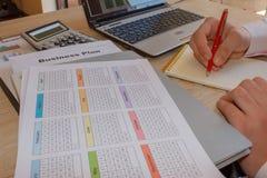 Dlaczego pisać planie biznesowym Pomyślni biznesów czynniki Zdjęcia Royalty Free