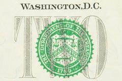 Dólar americano Imagens de Stock Royalty Free
