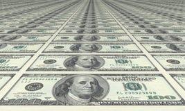 Dólar, dólar e dólar Imagens de Stock