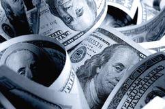 Dólares americanos do dinheiro Imagem de Stock