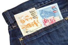 Dólares de Cingapura da cédula Fotografia de Stock Royalty Free