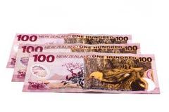 Dólares de Nueva Zelandia Imagen de archivo libre de regalías
