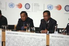 Délégation de l'Indonésie Images libres de droits