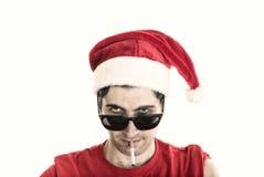 Dåliga Jultomte Arkivbilder