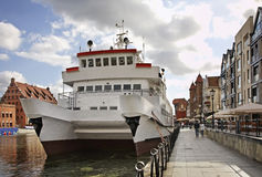 Dluga embankment in Gdansk. Poland Stock Photography