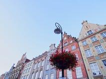 Dlugi Targ Street in Gdansk, Poland Stock Photos