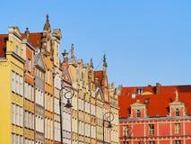 Dlugi Targ Street in Gdansk, Poland Royalty Free Stock Image