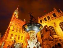 Dlugi Targ Street in Gdansk, Poland Royalty Free Stock Photography