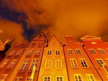 Dlugi Targ Street in Gdansk, Poland Stock Photography