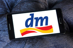 Dm-drogerie markt logo Royalty Free Stock Image