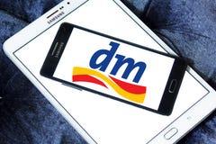Dm-drogerie markt logo Royalty Free Stock Photos