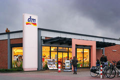Dm-drogerie markt store Royalty Free Stock Images