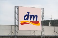 Dm drogeriemarkt store Royalty Free Stock Photo
