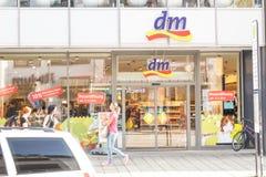 DM-drogisterij Royalty-vrije Stock Foto's