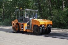 DM-13-VC asfaltu compactor Obrazy Royalty Free