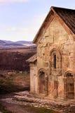 Dmanisi castle ruins and Dmansis Sioni (Kvemo-Kartli, Georgia) Stock Image