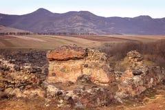Dmanisi castle ruins (Kvemo-Kartli, Georgia) Stock Images