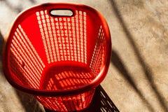 3dmax κόκκινο καλαθιών Στοκ Φωτογραφία