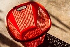 3dmax κόκκινο καλαθιών Στοκ φωτογραφία με δικαίωμα ελεύθερης χρήσης