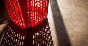3dmax κόκκινο καλαθιών Στοκ εικόνες με δικαίωμα ελεύθερης χρήσης