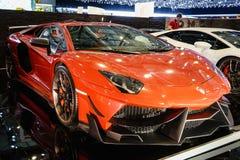 DMC EXOTISCHE CAR TUNING LIMITED, Motorshow Genève 2015 stock afbeeldingen