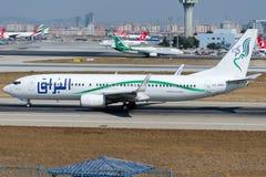 5A-DMG Buraq Luft, Boeing 737-8GK Stockfotos