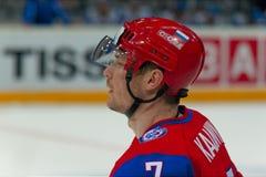 Dmitri Kalinin. IIHF 2010 Ice Hockey WC Royalty Free Stock Photos