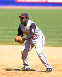 Dmitri Young, Cincinnati Reds. Cincinnati Reds 1B Dmitri Young. (Image taken from color slide Royalty Free Stock Images