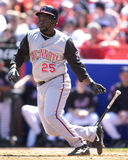 Dmitri Young. Cincinnati Reds 1B Dmitri Young. (Image taken from color slide Stock Photo