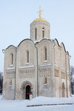 Dmitrievskiy Kathedrale in Vladimir stockbild