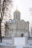 Dmitrievskiy Kathedrale in Vladimir Lizenzfreie Stockbilder