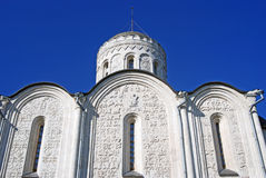 Dmitrievsky cathedral in Vladimir, Russia. Royalty Free Stock Photography