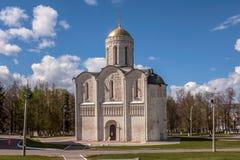 Dmitrievsky-Kathedrale vladimir Errichtet im 12. Jahrhundert Goldener Ring Russland stockbilder