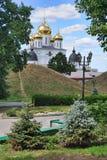 Dmitrov地标由树构筑了 库存图片