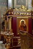 Dmitrov, Ρωσία - 10 Μαρτίου 2018 εσωτερικό αρσενικό μοναστήρι Borisoglebsky Στοκ Φωτογραφίες