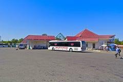 Dmitrov bus station Stock Photography