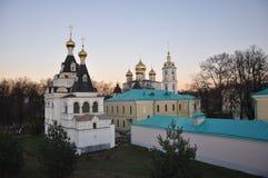 Dmitrov el Kremlin y la iglesia de Catherine Imagen de archivo libre de regalías