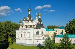 Dmitrov, Rússia, Elizabeth Church no Kremlin de Dmitrov fotos de stock