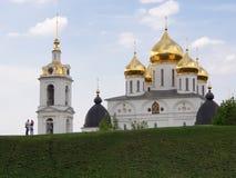 Dmitrov Russland - 10. Mai 2019: Dmitrov der Kreml stockbild